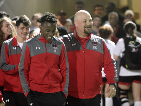 Coach Keel Receives Teacher of the Year Honors